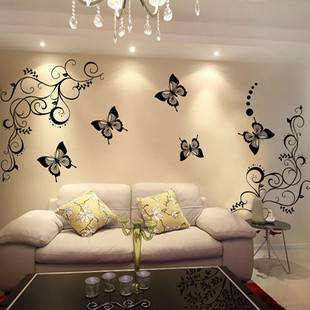 D Butterfly Wall Decal Stickers Bedroom Girls Room Home Decor - Butterfly wall decals 3d