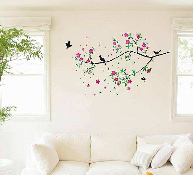 ... Tree And Bird Wall Art. 2 For U20ac20. ;  Part 56