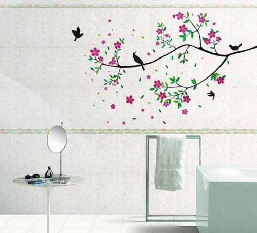 Colorful Tree And Bird Wall Art | Flowers U0026 Tree | Bedroom | Wall Decals