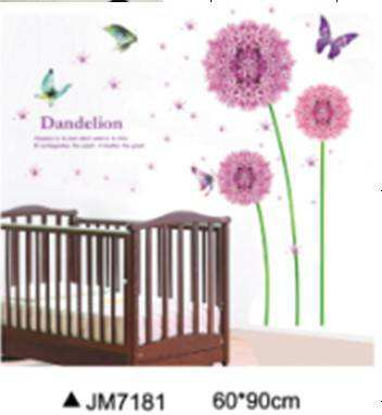 dandelion flowers wall stickers | flowers & tree | wall decals