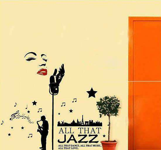All That Jazz Home Decor Wall Decal | Home Decor | Wall Stickers