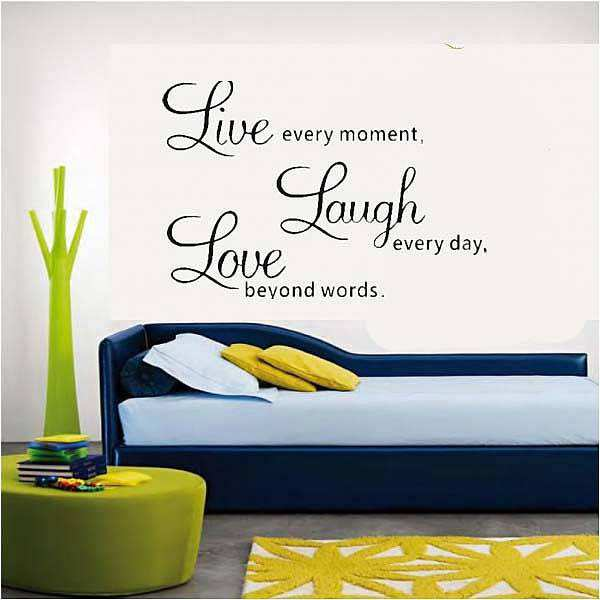 ... Wall Quotes/Live Laugh Love Wall Quote Sticker. ;  Part 57