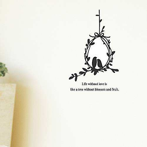 Cute Birds Couple Wall Sticker Home Decor Wall Decals