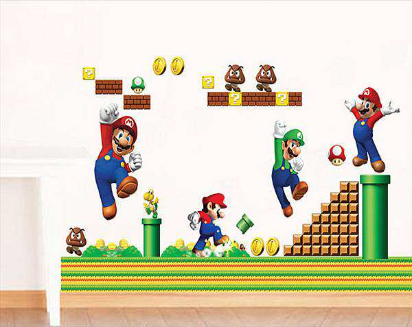 ... Mario Children Wall Stickers. 2 For U20ac20. ; 