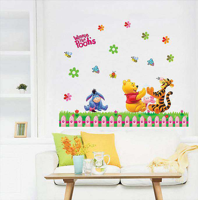 Winnie The Poou Party Wall Decals Wall Stickers 1
