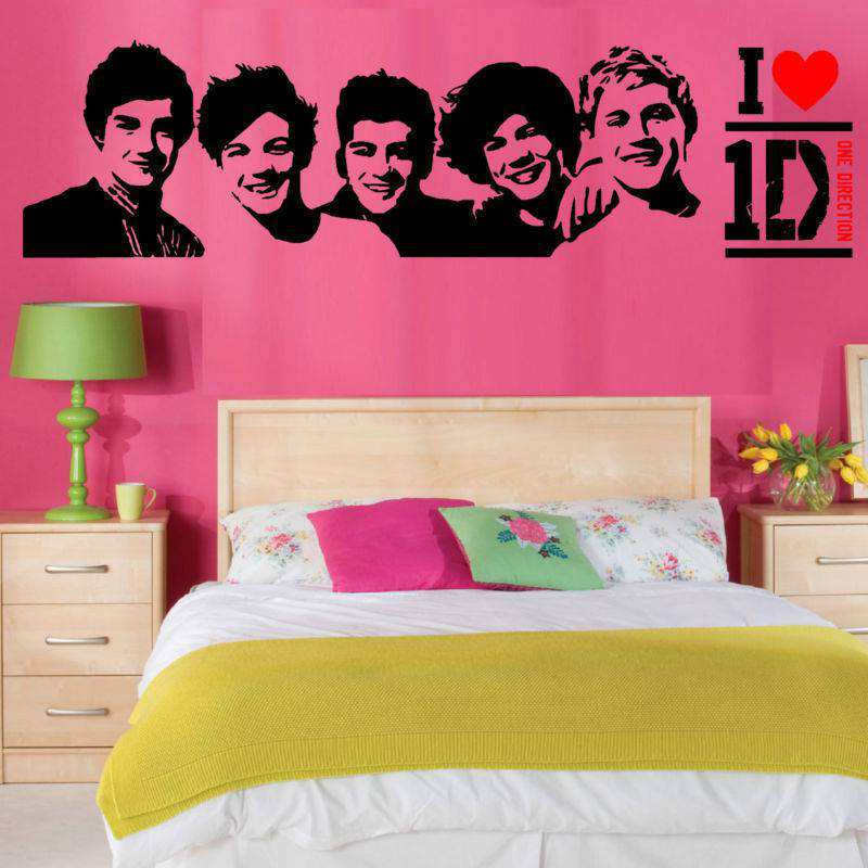 One Direction Wall Stickers | Characters | Girls Room | Wall Decals
