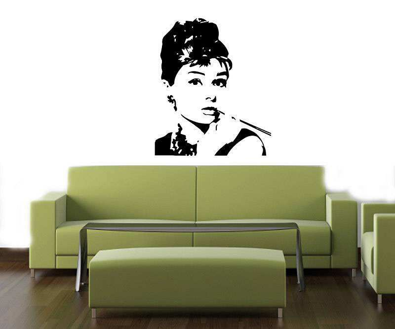 Audrey Hepburn Wall Decal Part 74