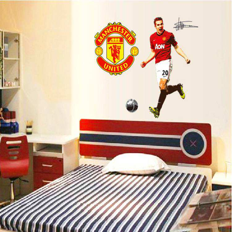 Football wall decals bedroom walls ~ Color the walls of your house