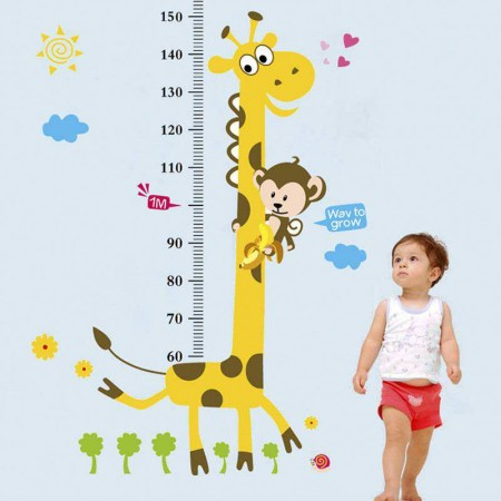 Height Chart Stickers