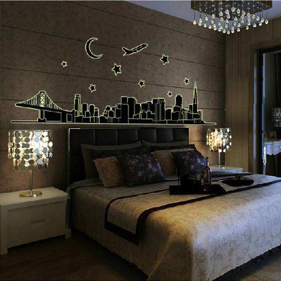 ... Home Decor/Glow In The Dark Wall Stickers. ;  Part 15