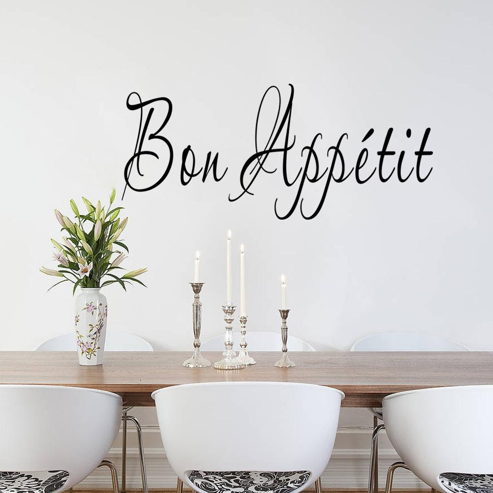 Bon Appetit Kitchen Quote Wall Sticker Quotes Wall Decals