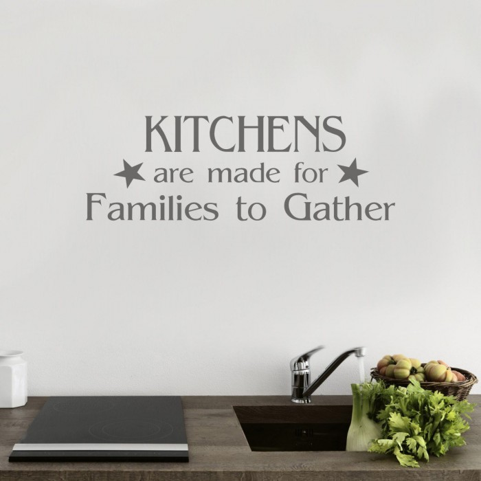kitchen wall art sticker decals