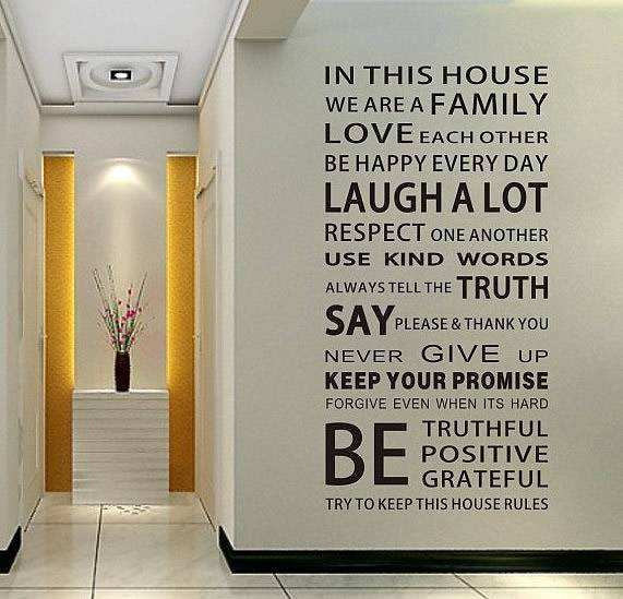 ... Wall Decal Art Sticker. ;  Part 43