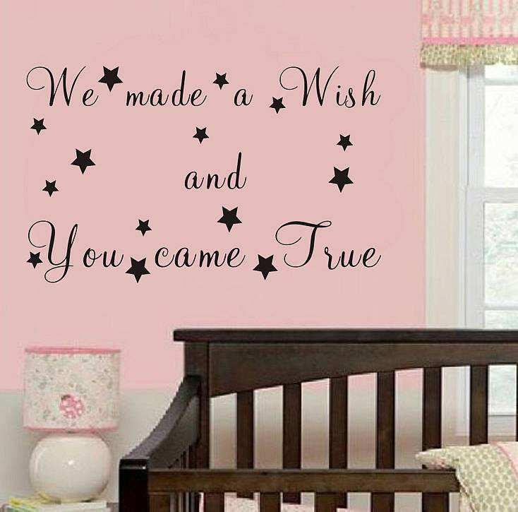 ... Wall Quote Sticker. ; 