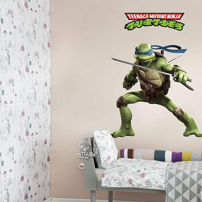 Ninja Turtle Wall Decor ninja turtles wall stickers decal art | boys room | wall decals