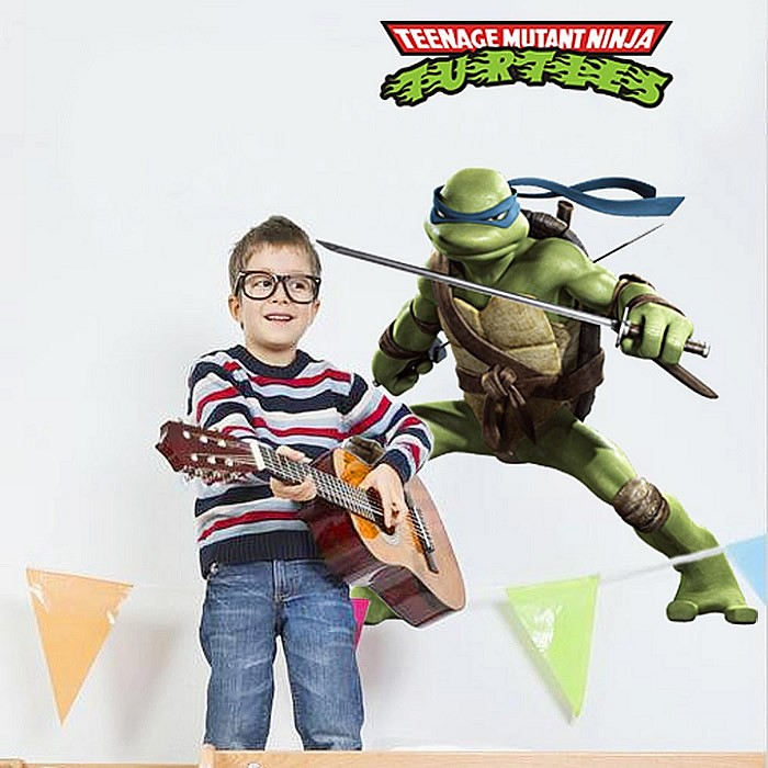 Ninja Turtles Wall Stickers Decal Art