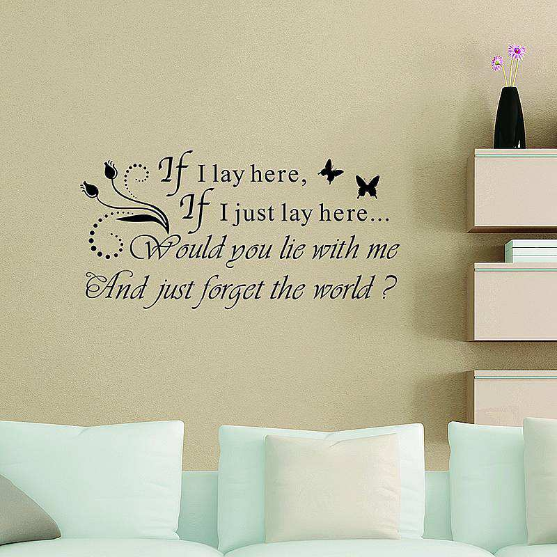 ... Saying Wall Decal Sticker. ;  Part 79