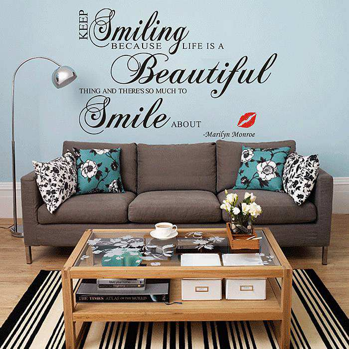 ... Wall Quotes Stickers. ;  Part 47