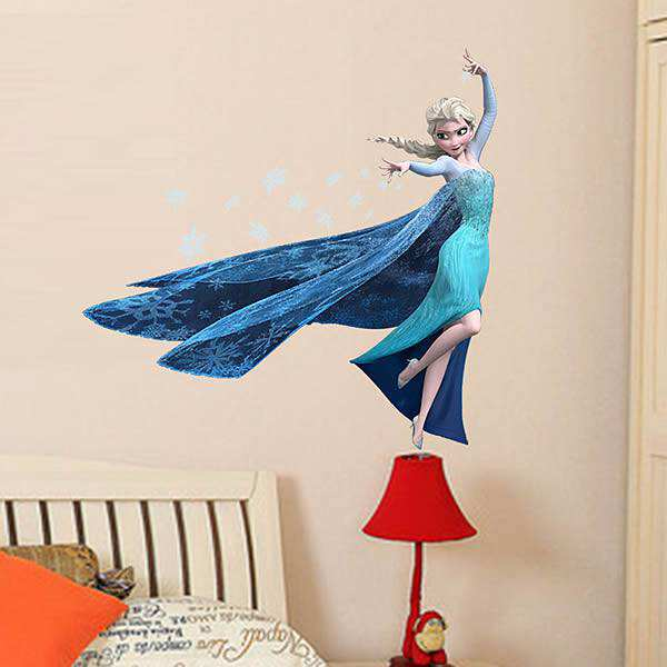 ... Frozen Wall Sticker Decal. ; 
