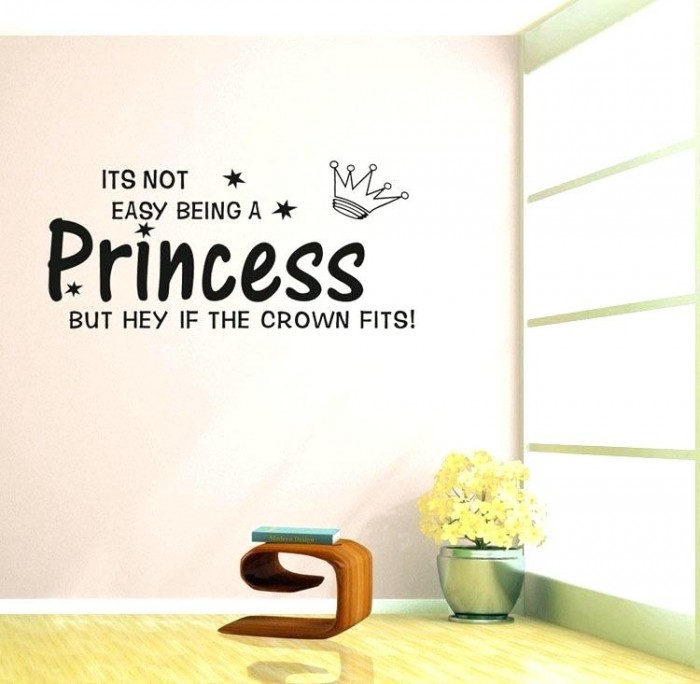 Its Not Easy Being Princes Decals