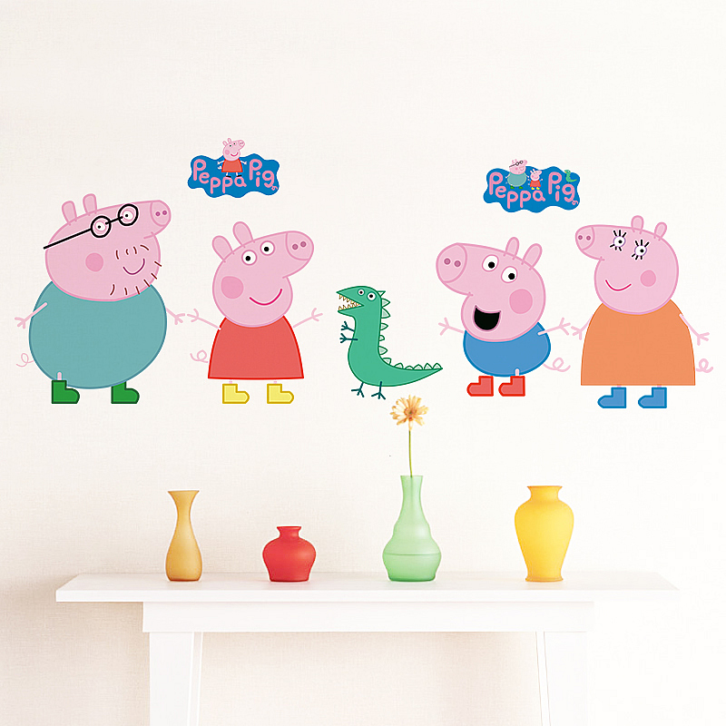 Peppa Pig Wall Stickers Part 12