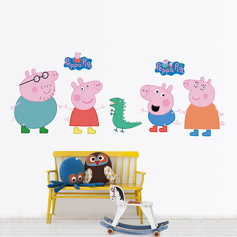 Peppa Pig Wall Stickers Part 35