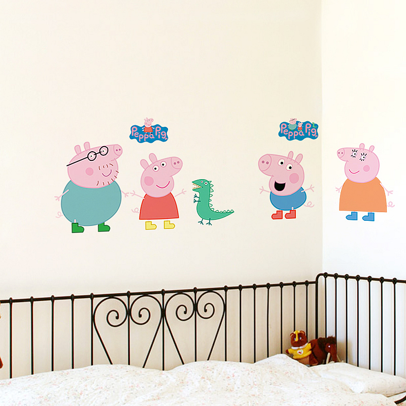 Peppa Pig Wall Stickers Part 75