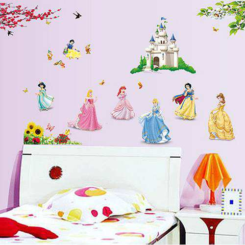 Good ... Princess Wall Stickers. 2 For U20ac20. ;  Part 24