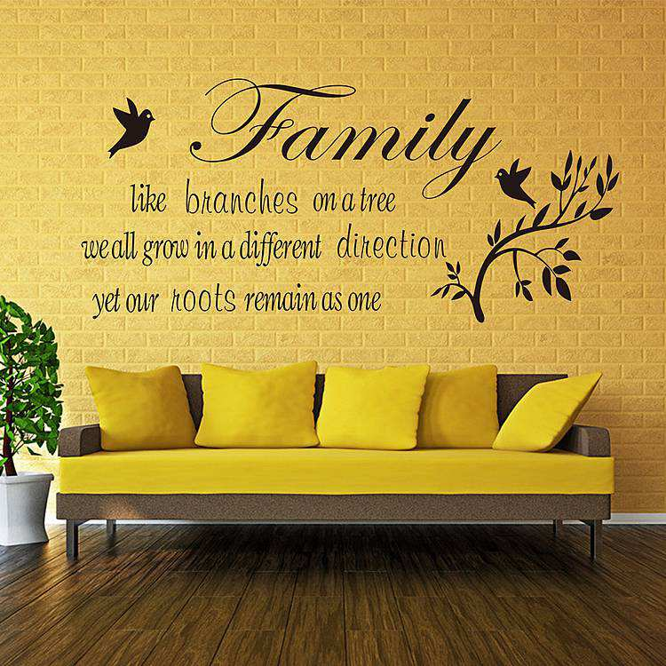... Quotes Wall Decal Sticker. ; 