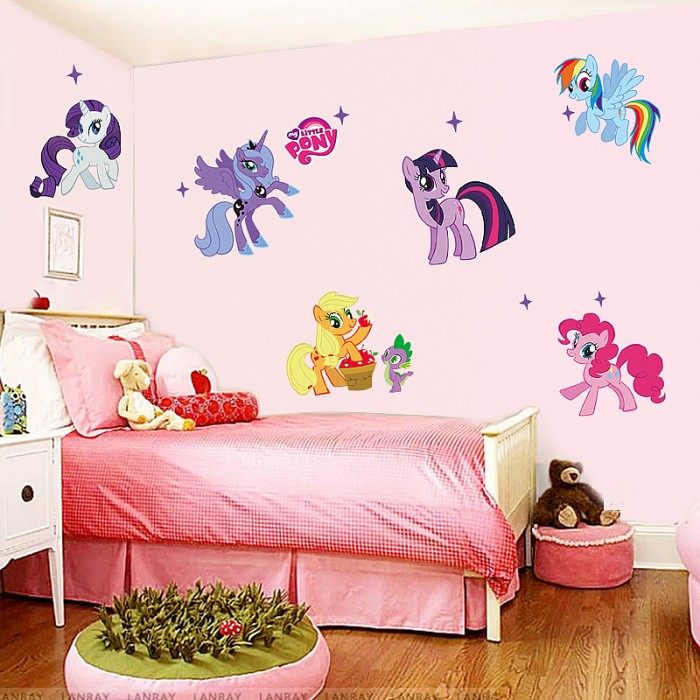 My little pony wall sticker art decal