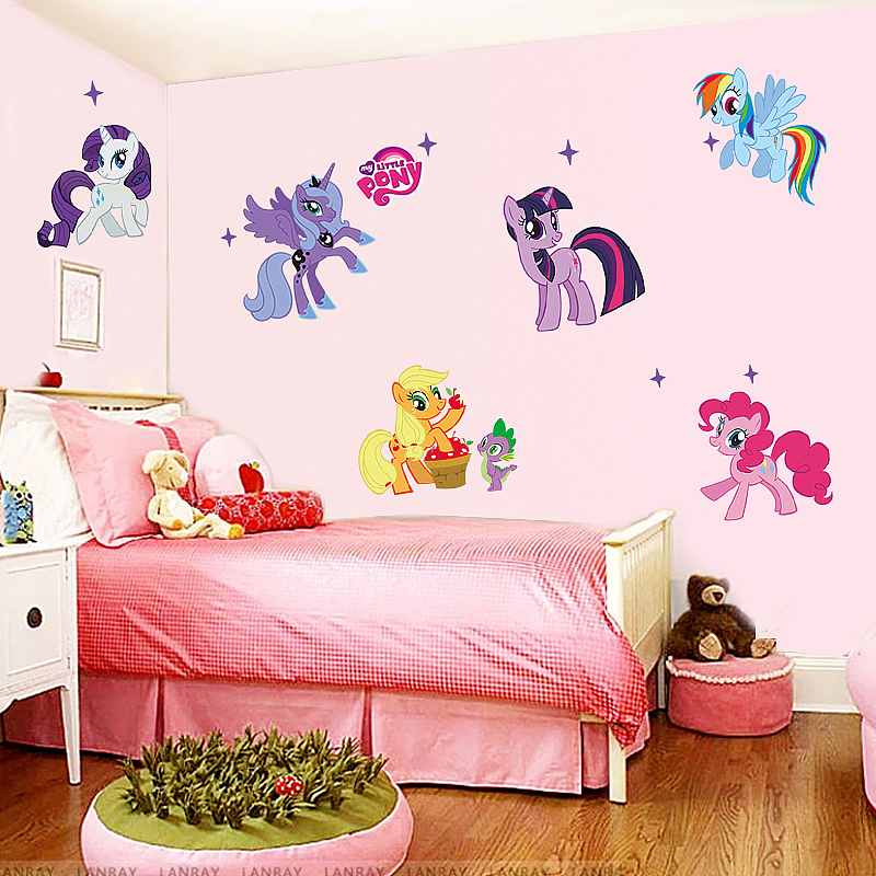 My Little Pony Wall Sticker Art Decal Animals Girls Room - Wall stickers art