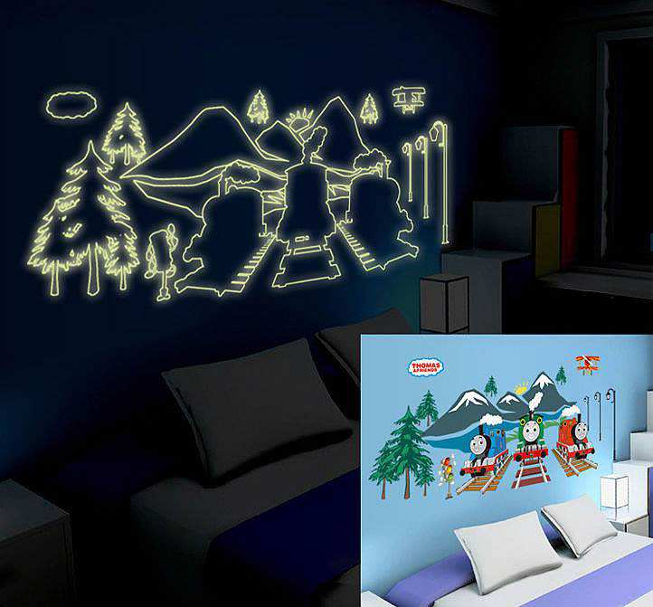 ... Nursery/Thomas The Tank Engine Wall Stickers Decals. ;  Part 57