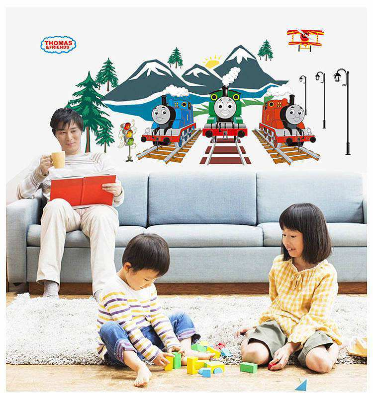 ... Nursery/Thomas The Tank Engine Wall Stickers Decals. ;  Part 73