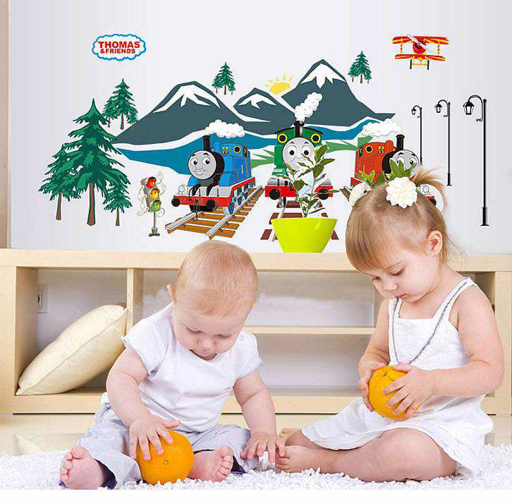 ... Nursery/Thomas The Tank Engine Wall Stickers Decals. ;  Part 53