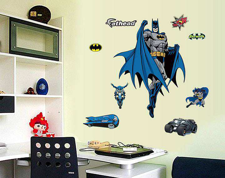 batman wall stickers decals | boys room | wall stickers