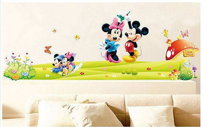 ... Mouse Love Minnie Wall Stickers. 2 For U20ac20. ;  Part 54