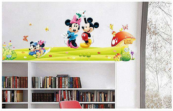 ... Mickey Mouse Love Minnie Wall Stickers. 2 For U20ac20. ; 