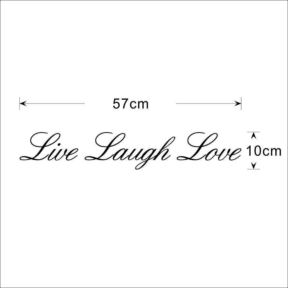 Live Laugh Love Quote Unique Live Laugh Love Wall Quote Stickers  Quotes  Wall Decals