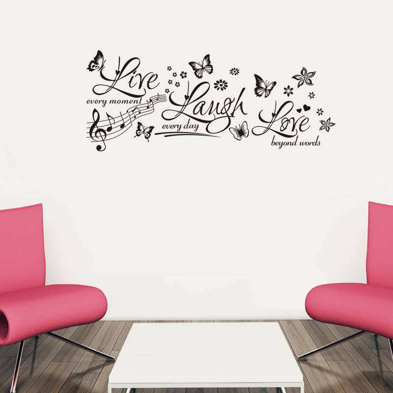 ... Wall Quotes/Live Laugh Love Wall Sticker Decals. ;  Part 23