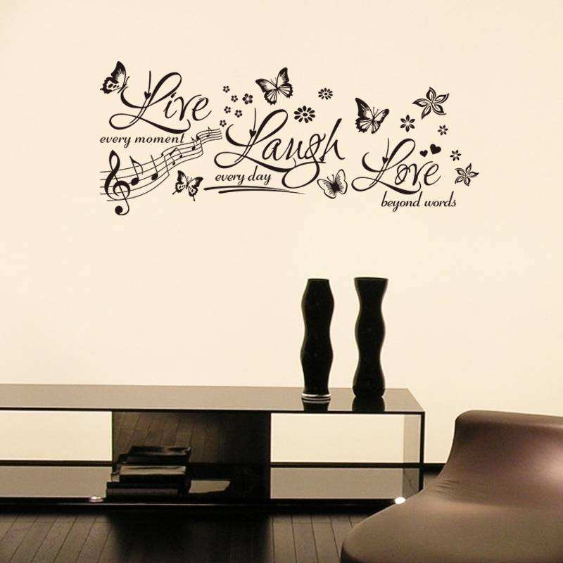 ... Wall Quotes/Live Laugh Love Wall Sticker Decals. ;  Part 33