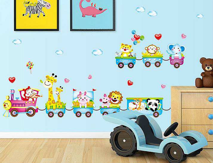 Ordinaire ... Train Wall Stickers Art Decals. ; 