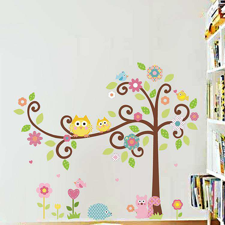 ... Owl Wall Stickers Art Decals. 2 For U20ac20. ; 