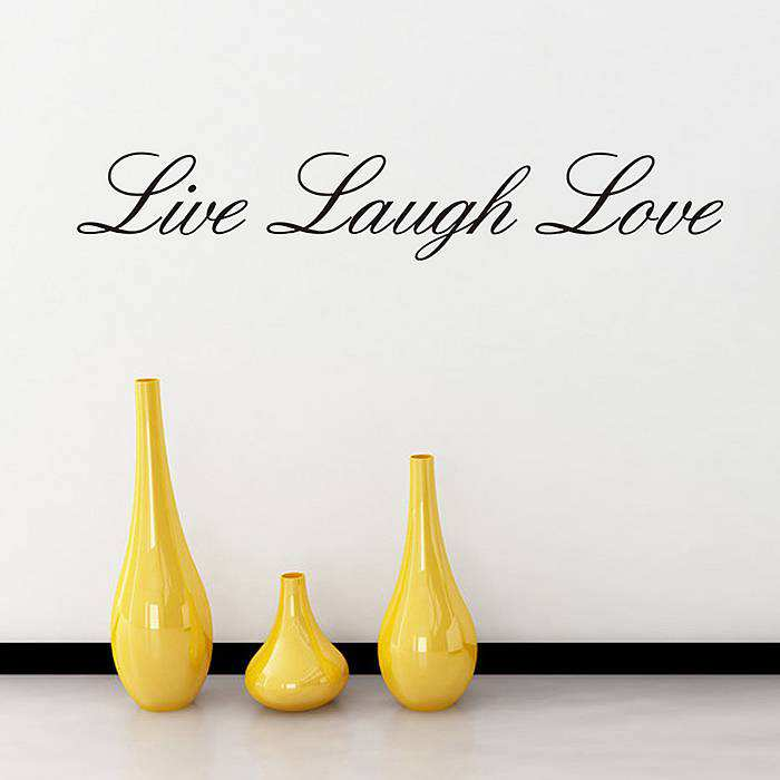 ... Wall Quotes/Live Laugh Love Wall Quote Stickers. ;  Part 20