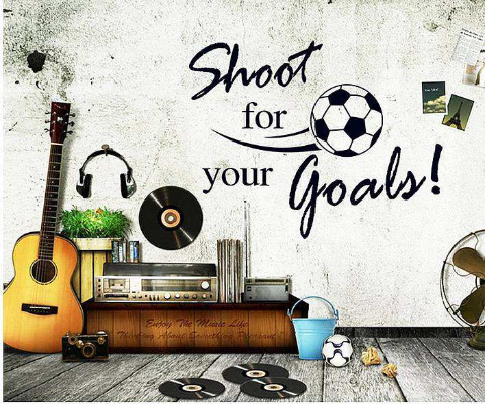 ... For Your Goals Wall Quote Stickers. ;  Part 53