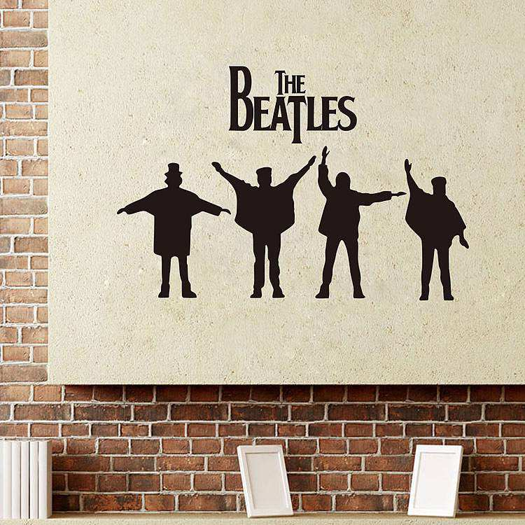 ... Beatles Wall Stickers. ; 
