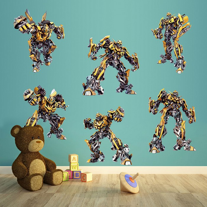 Transformers wall sticker art decals