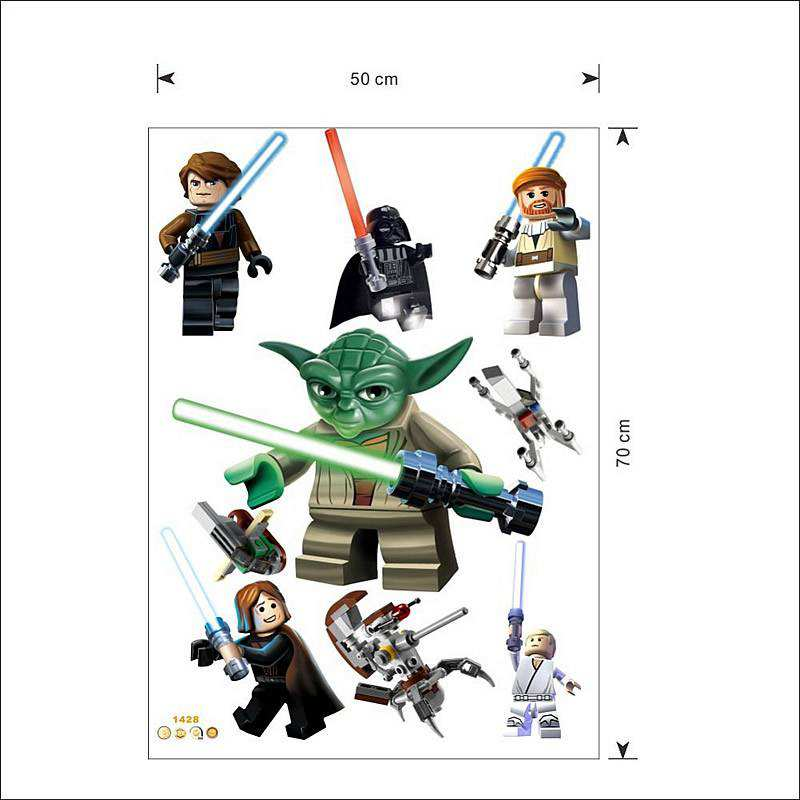 Home/Boys Room/Lego Star Wars 11 Character Decal. ;  Ideas