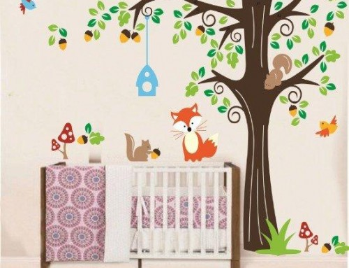Want to Purchase a Baby Room Tree Wall Decal?