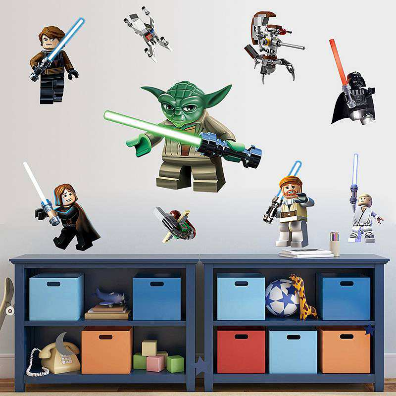 Home/Boys Room/Lego Star Wars 11 Character Decal. ;  Part 29