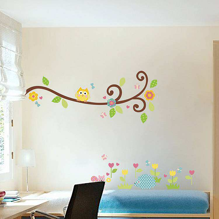 ... Tree Owl Wall Stickers. 2 For U20ac20. ;  Part 70